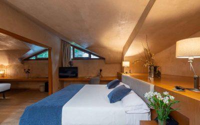 Habitacion-atico-doble-familiar-Hotel-Xalet-del-golf-cerdaña