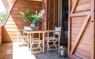 habitacion deluxe hotel chalet golf- terraza-Cerdanya-Puigcerda